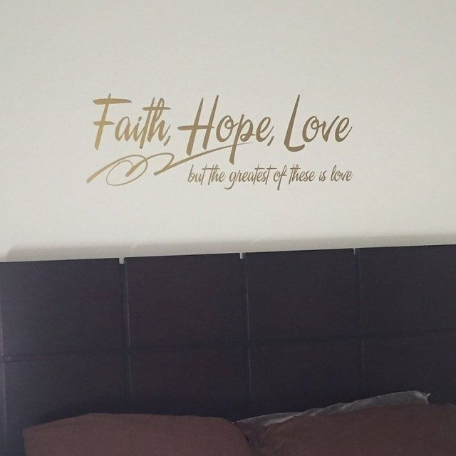 Faith Hope Love Wall Art Sign Gift Printables Set Of 3 Bible
