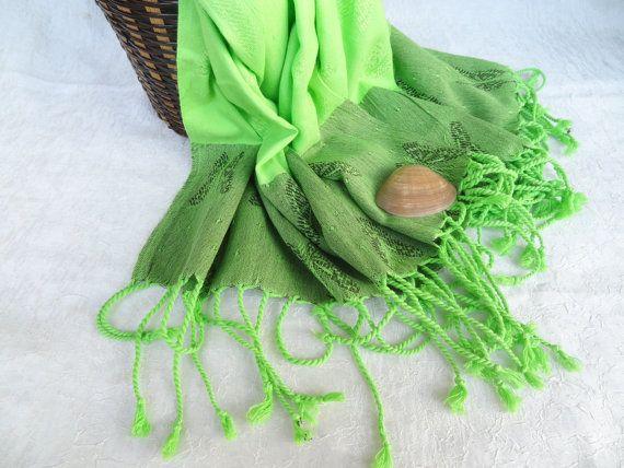 Pistachio Green Bamboo Peshtemal-Turkish by OttomanBazaars on Etsy