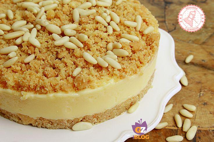 La sbriciolata della nonna è una torta fredda estiva semplicissima da preparare e golosissima. Un'altra versione della più famosa cotta in forno.