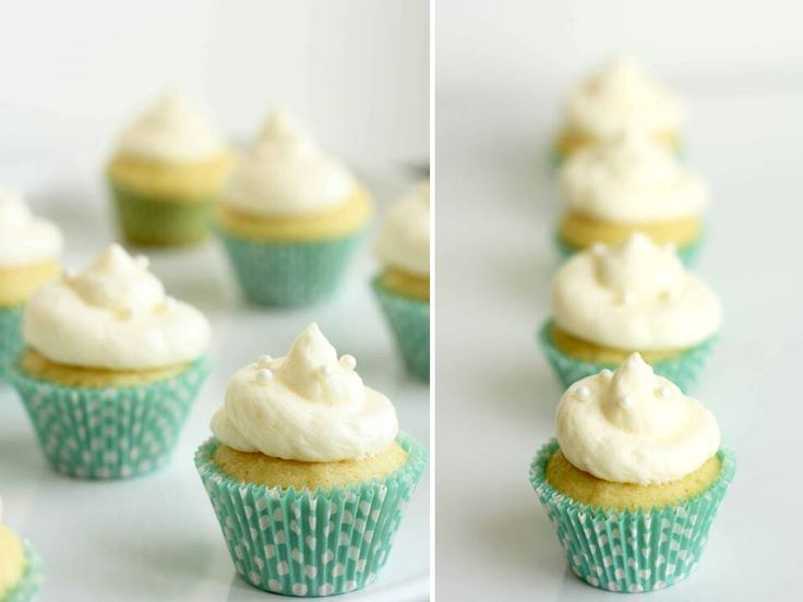 Delicious champagne cupcakes