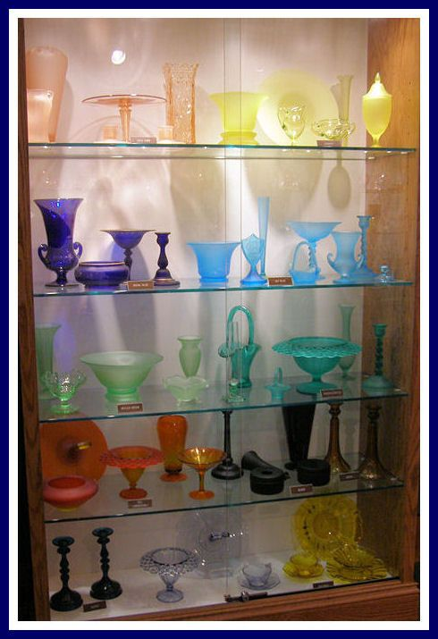 We love Tiffin Glass! Visit the Tiffin Glass Museum and then come to Jeffrey's Antique Gallery to see our glass collection..we are only 40 minutes away!
