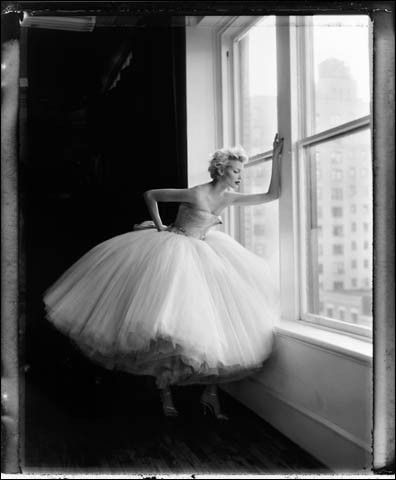 Marilyn is stunning is this dream of a tutu.: