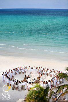 "casual beach wedding setup ""no chairs"" - Google Search"