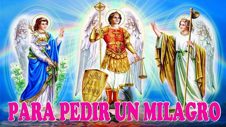 San Miguel, San Gabriel y San Rafael, oración poderosa para medir un mil…