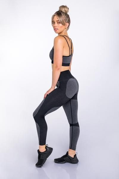 f8346b5986cbe DYE Seamless Leggings - Black – DOYOUEVEN | Squat Proof Leggings ...