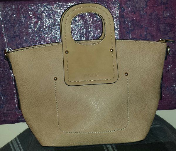 Susen Tote Bag with Round Handle