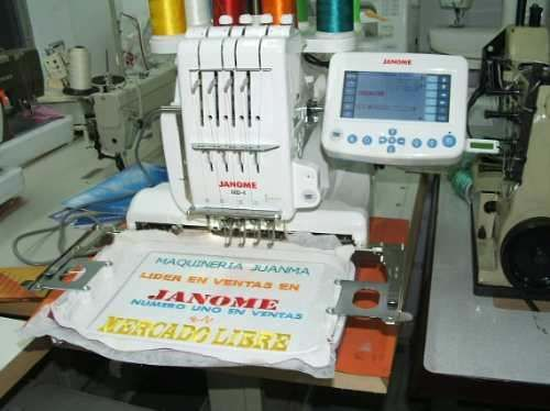 bordadora janome mb 4 +curso oficial janome bordadoras
