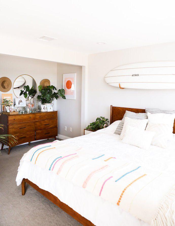 A Surfer Chic San Go Bungalow Modern Bedroom Decor