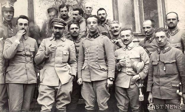 Znalezione obrazy dla zapytania 1 brygada nad nidą brygadier józef piłsudski