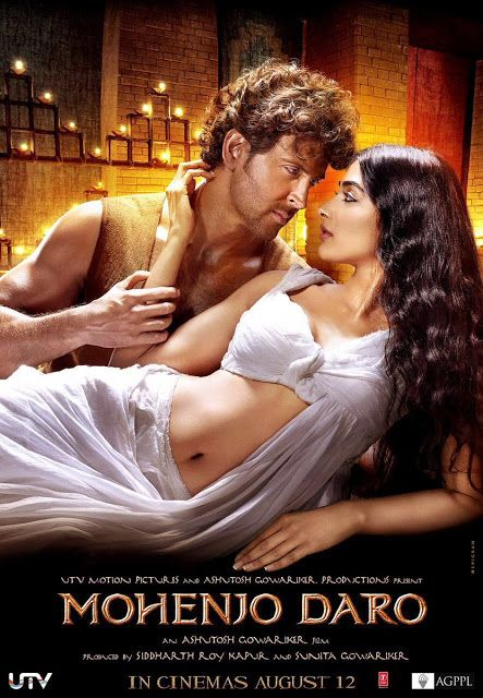 The latest poster of the movie 'Mohenjo Daro' featuring Hrithik Roshan and Pooja Hegde has been unveiled. http://www.bollywoodnentertainment.com/2016/07/the-latest-poster-of-movie-mohenjo-daro.html