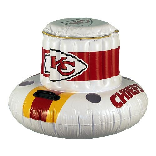 Kansas City Chiefs Floating Cooler $49.99
