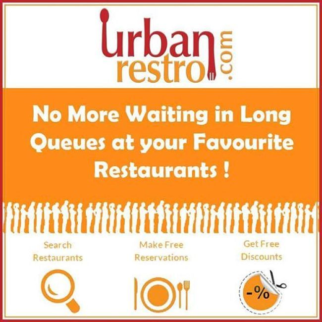Present across Mumbai, Pune, Delhi NCR, Ahmedabadh and Bangalore.  Log on to http://bit.ly/Urbanrestro_com  to know about the restaurants nearest you!  #urbanrestro #nomorequeue #food