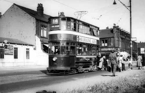 Stanningley Road, tram no.114