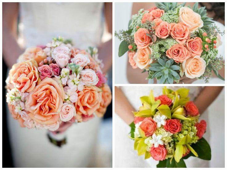 les 25 meilleures id es concernant bouquets de mariage corail sur pinterest bouquets de. Black Bedroom Furniture Sets. Home Design Ideas