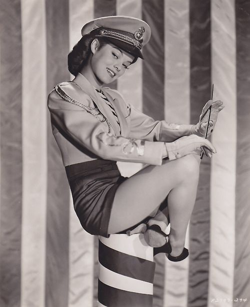 hot !!! militarry mama in the 1940's and still in the after life / the 21 st century!