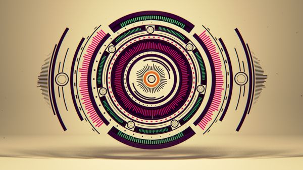 Short movie Pure Geometry by Romanowsky by Alexey Romanowski, via Behance