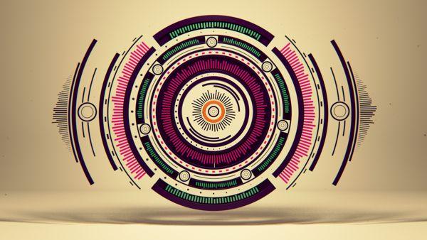 Short movie Pure Geometry by Romanowsky by Alexey Romanowski, via Behance