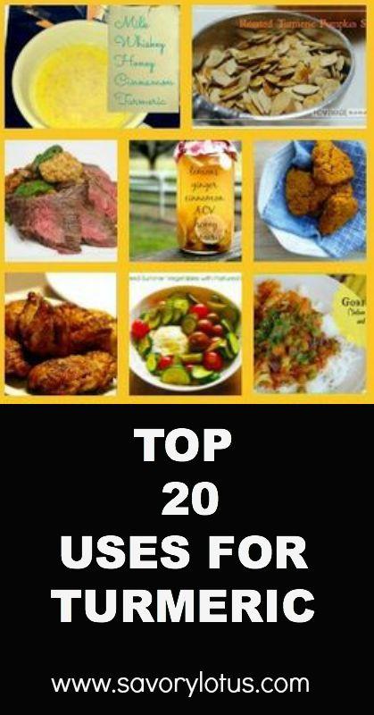 Top 20 Uses for Turmeric - savorylotus.com