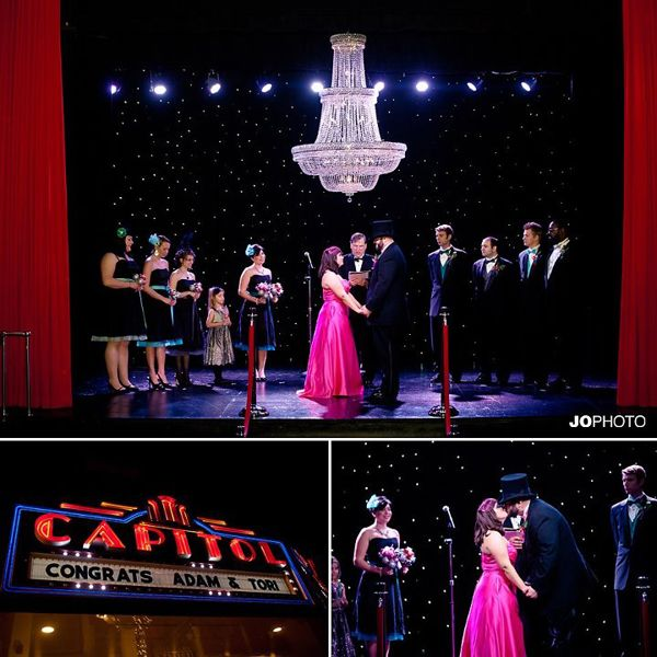Glamorous Theatre Weddings