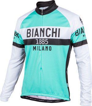 Bianchi-Milano Celeste Curno LS Jersey