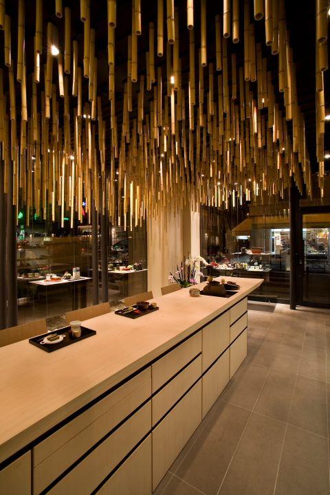 Jugetsudo Tea Shop, Paris by Kengo Kuma