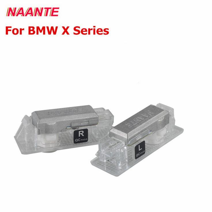 Модная Naante Двери Автомобиля LED Добро Пожаловать Тень Добро Пожаловать Свет Для BMW X 5/X6/X3 Двери Автомобиля Логотип лампы