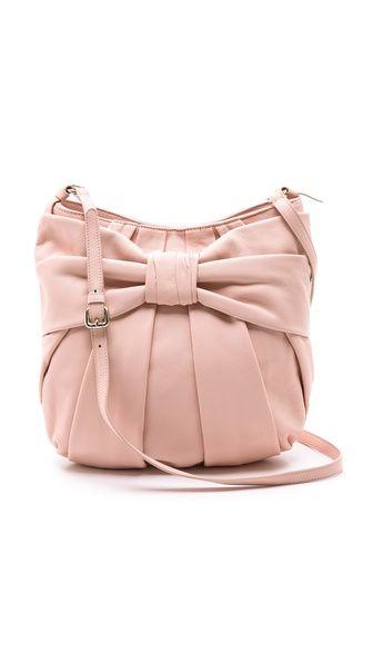 RED Valentino Calfskin Bow Shoulder Bag