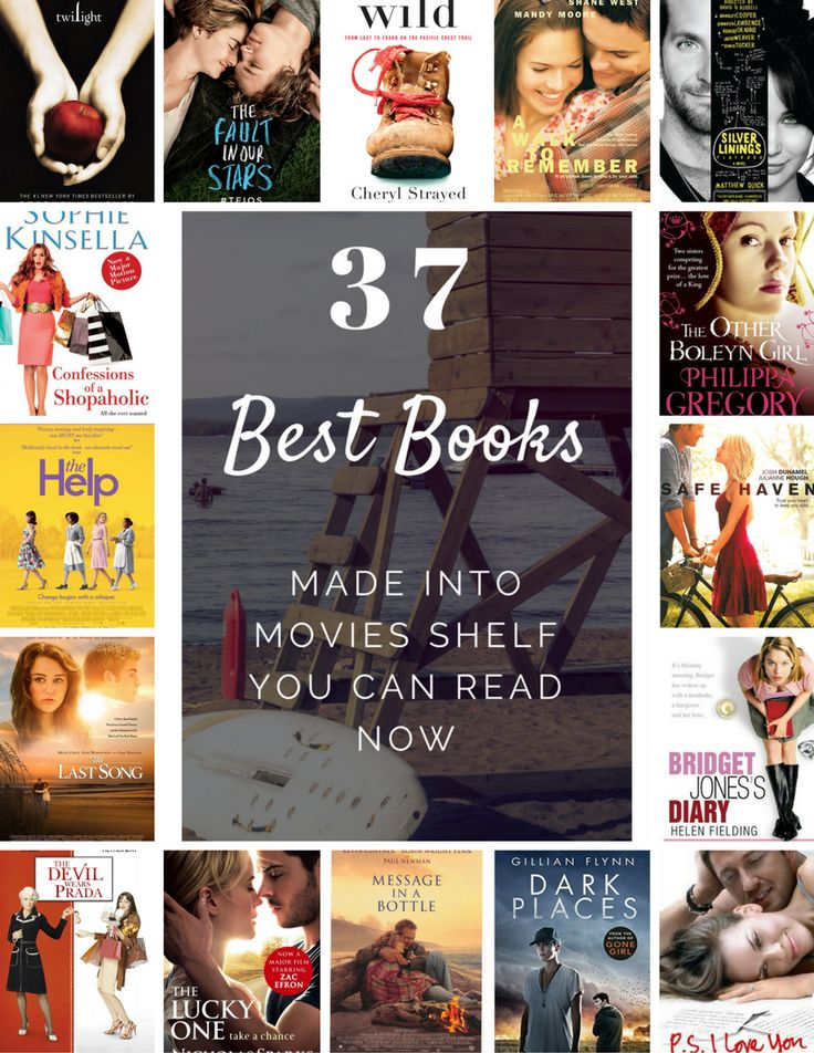 37 Best Books Made Into Movies Shelf You Can Read Now | Loud Life