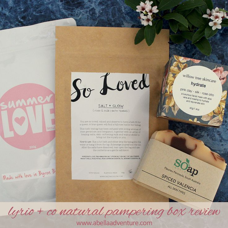 Lyrio & Co Natural Pampering Box Review | A Bella Adventure…