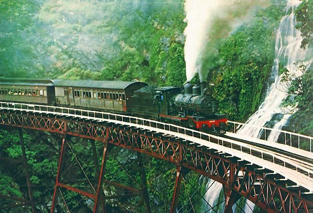 Kuranda Scenic Railway through the Australian rainforest