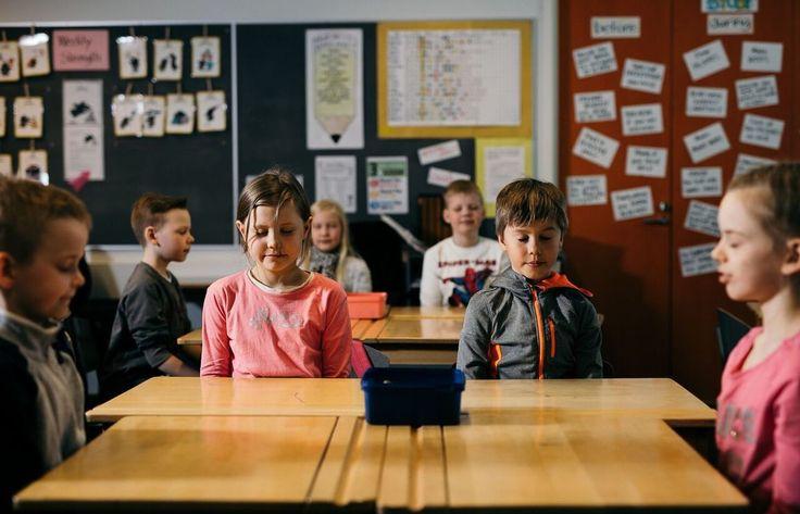 Koulutuksen tulevaisuus lasten suusta.