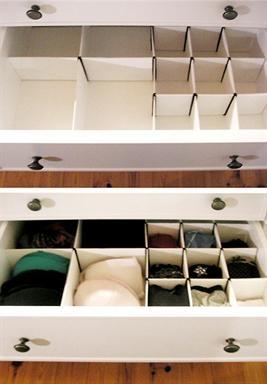 DIY | Homemade Drawer Dividers
