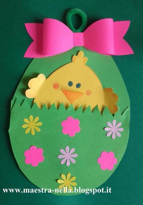Oltre 1000 idee su cartoncino colorato su pinterest - Uova di pasqua decorati ...
