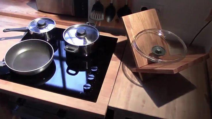 Универсальная кухонная доска из дерева своими руками Самодельные деревян...