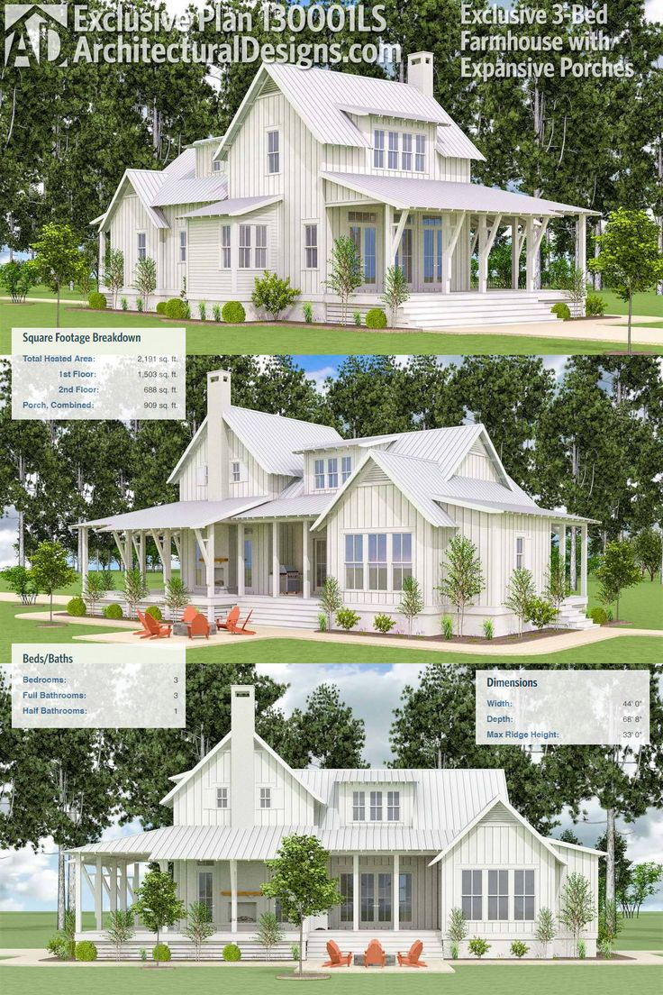 25 best texas ranch homes ideas on pinterest texas for Texas ranch house plans with porches