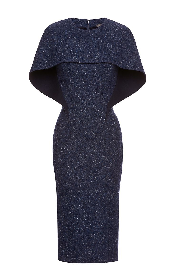 """Tweed Dress by Zac Posen - My instant reaction to this was """"oh...!"""" How unique and completely classy! Love it!!    Worn by 'Diane Lockheart"""" on the TV show """"The Good Wife.""""  4.12.15"""