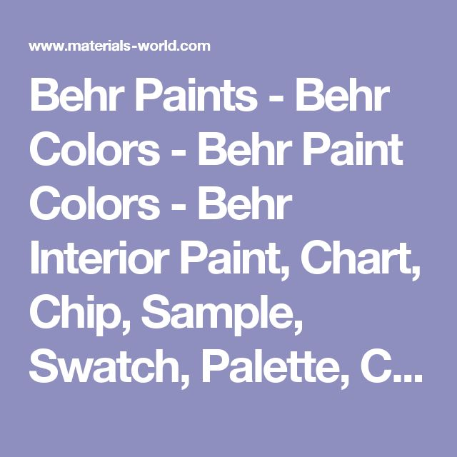 The 25+ best Behr paint colors chart ideas on Pinterest Shades - sample general color chart