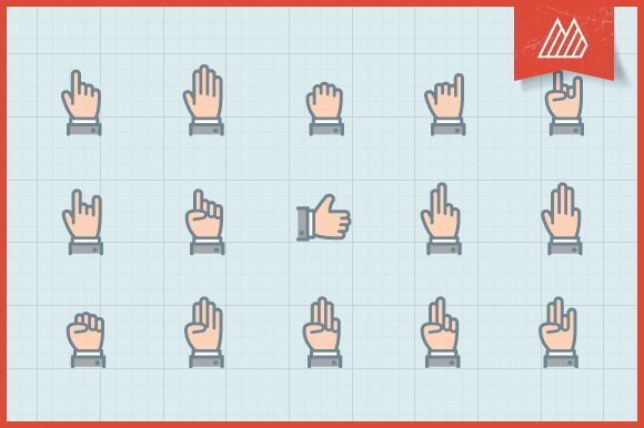 Check out Smooth Hand Cursors by themangustas on Creative Market