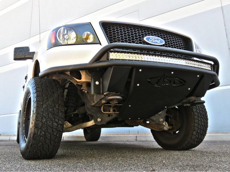 04 08 F150 Add Lite Off Road Front Bumper W Top Hoop F150 Ford F150 Offroad