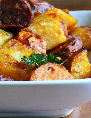 Spanish Roasted Potatoes With Tomato Sauce Recipes — Dishmaps