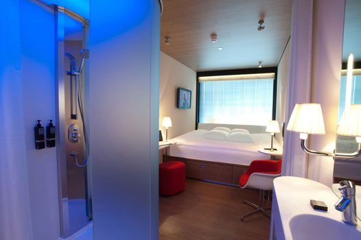 CitizenM Glasgow - where we'll be spending our wedding night.  Check their site, super awesome hotel!