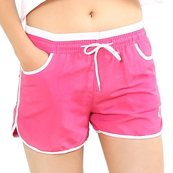 246773f75b Straight Cozy Breathable Multiple Colors Sports Yoga Shorts For Women