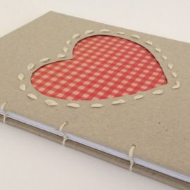 Handmade notebook by Emma Louise Designs