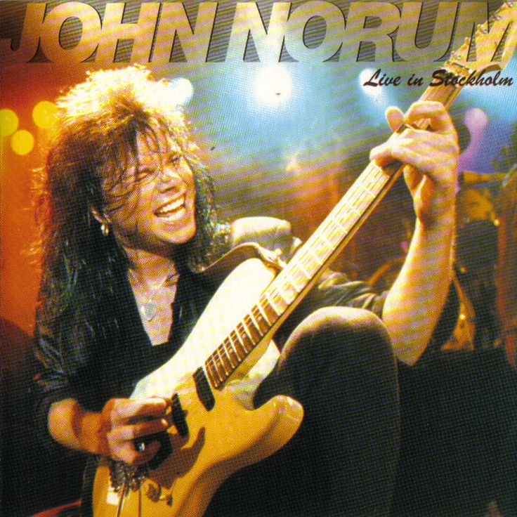 LIVE IN STOCKHOLM '90 (1990) #johnnorum Check John Norum complete discography at http://www.johnnorum.se/discography/