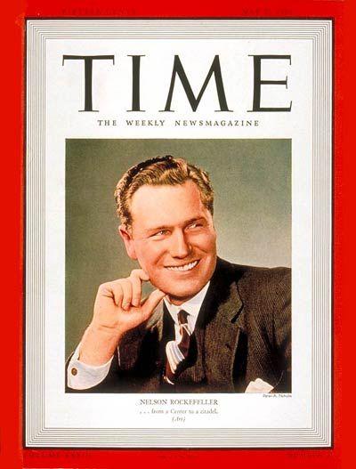 TIME Magazine Cover: Nelson Rockefeller - May 22, 1939 - Nelson Rockefeller - Vice Presidents - New York - Politics