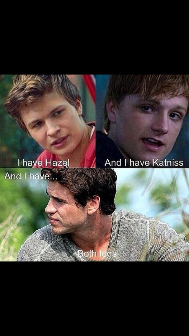 Gale. Ugh. Too much fire in one boy. Gale lit the fire in Katniss. Peeta tamed it.