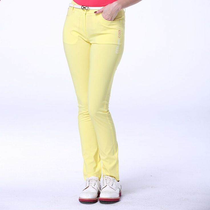 Best seller SUMMER spring women golf pants golf clothing Brand quick-drying breathable ladies golf trousers DRI -FIT 2800