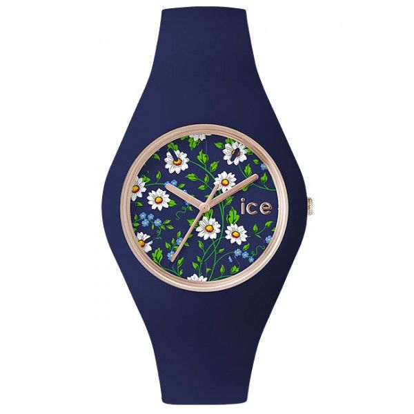 ICE.FL.DAI.U.S.15 - ICE-WATCH Flower  DAISY - Rose Gold - 100 Metres Water Resistant - Free Delivery