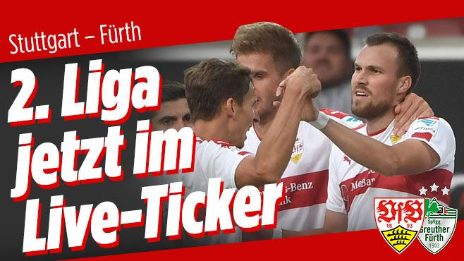 2. Bundesliga LIVE: http://www.bild.de/bundesliga/2-liga/saison-2016-2017/vfb-stuttgart-gegen-greuther-fuerth-am-8-Spieltag-46885156.bild.html