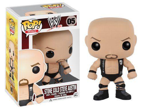 Funko POP WWE: Steve Austin Action Figure http://popvinyl.net #funko #funkopop #popvinyl